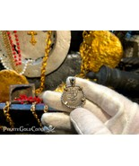 """PERU 1 REAL 1707 """"TRIPLE DATED"""" PENDANT NECKLACE PIRATE GOLD COINS JEWEL... - $1,950.00"""