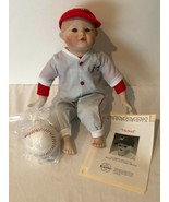 Ashton Drake Michael Porcelain Doll Yolanda Picture Perfect Babies Baseb... - $29.99