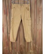 RALPH LAUREN beige Crop khaki Pants cargo hiking casual Size 4 - $59.00