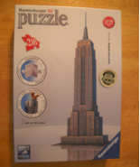 Ravensburger 3D Jigsaw Puzzle 2012 Empire State Building 216 Pieces Sealed Box - $13.99