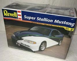 Ford Super Stallion Mustang 1:25 Model Revell Monogram 85-2571 Sealed 1999 - $31.84