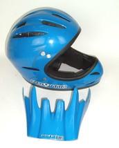 VTG 1999 Pryme BMX Racing Helmet Blue With Visor/bill XS/XXS - $37.95
