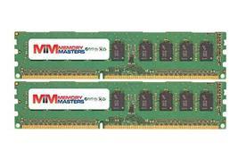 MemoryMasters 4GB (2x2GB) DDR3-1600MHz PC3-12800 ECC UDIMM 2Rx8 1.5V Unb... - $29.55