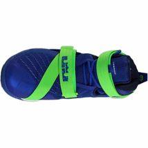Nike Lebron IX 9 Soldier Sprite Game Blue/Green 749417-601 Mens Basketball image 5