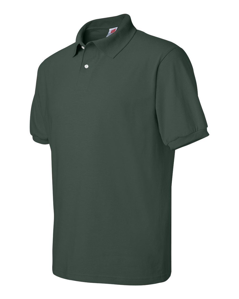 Primary image for Polo Shirt Hunter Green Hanes Stedman S Cotton Blend Unisex S/S New