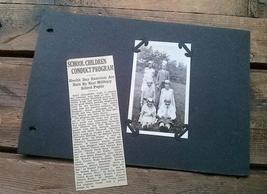 School Children Kings Queens Health Day Milbury MA Photograph 1930s Albu... - $15.99