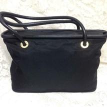 Celine, Paris Italy Rare, Large, Nylon-Leather Trim Handbag  16in x 11in... - $189.95