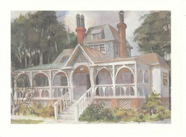 Vintage Greeting Card The Wren's Nest Atlanta Georgia Joel Chandler Harris - $7.91