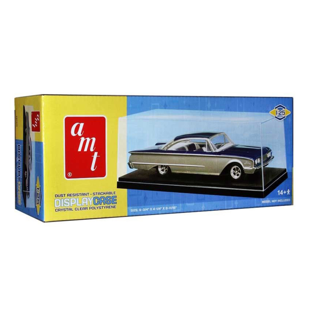 Collectible Display Show Case for 1/24-1/25 Scale Model Cars by Autoworld AMT600