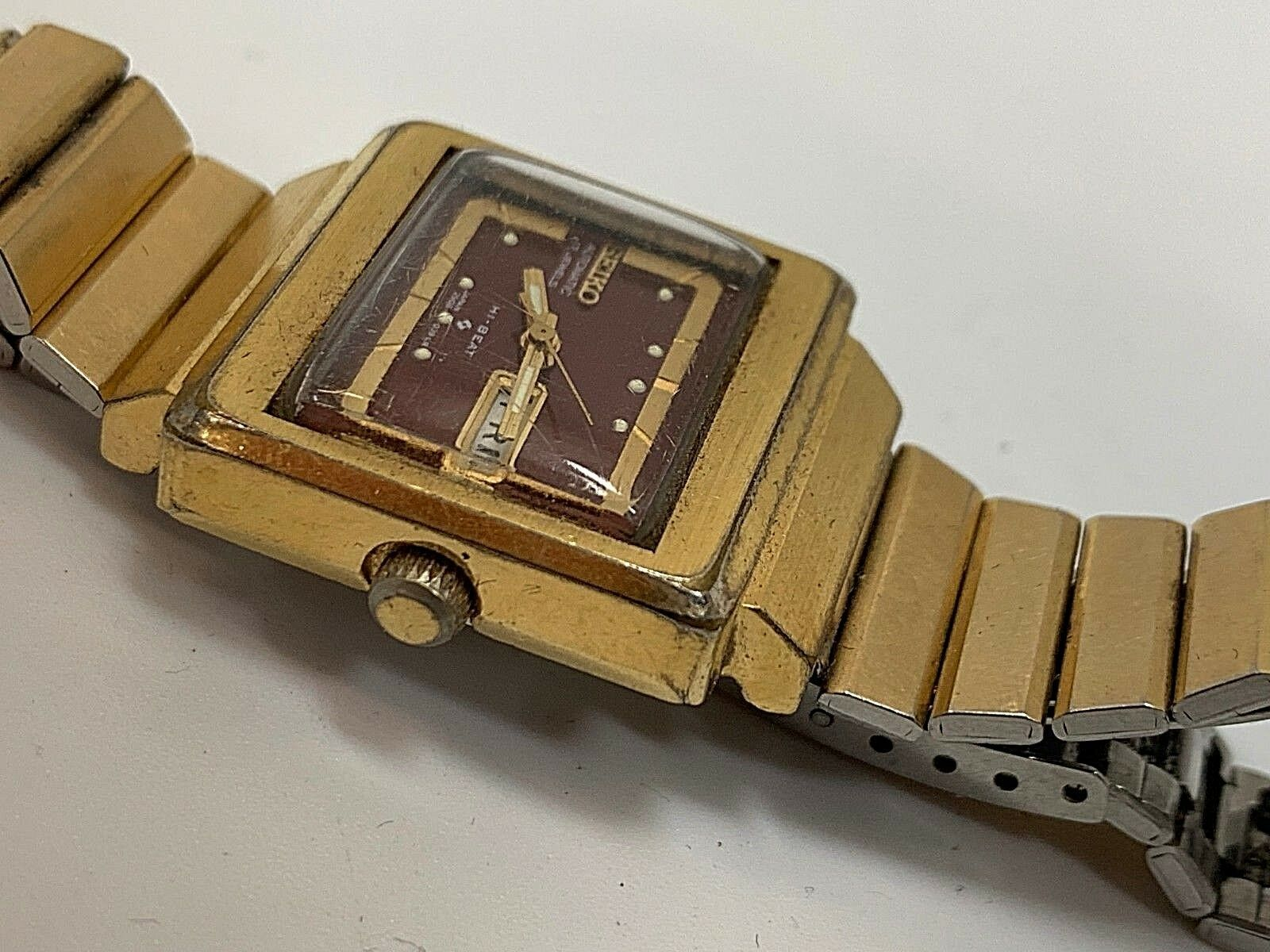 Vintage Seiko women watch automatic 17 jewels japan serviced hi-beat image 2