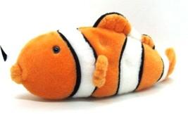 Wishpets MR CLOWN Orange & White Clownfish Clown Fish Stuffed Animal Plu... - $12.99