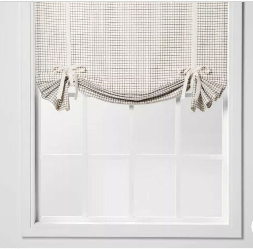 "63""x42"" Honeycomb Light Filtering Balloon Window Shade - Threshold WHITE or GRAY - $19.99"