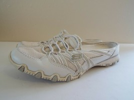 Skechers 8.5 Leather White Women Sneakers image 1