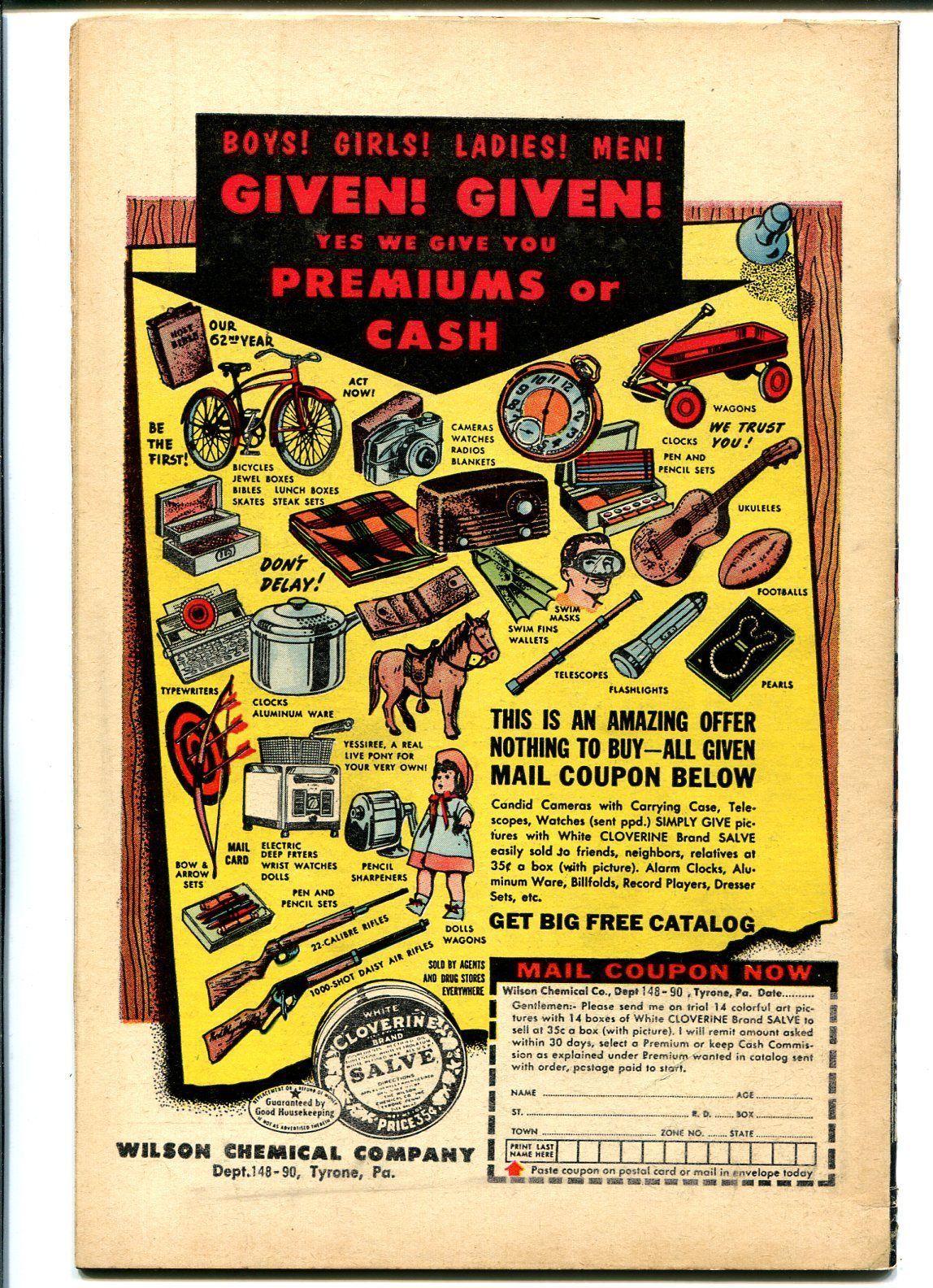 Wild Western #50 1956-Marvel-Kid Colt-Ringo Kid-Black Rider-VG/FN