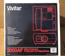 Vivitar 2000AF 35MM Slide Projector W Rotary Slide Tray - Excellent - $99.95