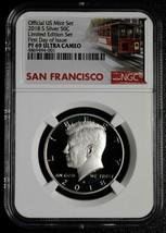 2018S  Silver Kennedy Half Dollar Limited Edition Set PF69 First Day SKU C71