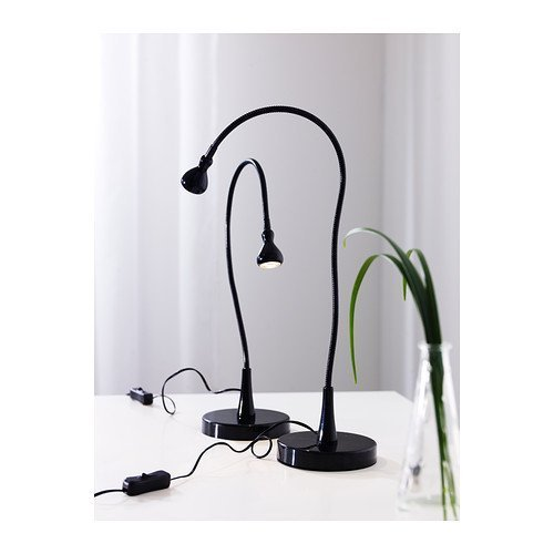 Ikea Black Jansjo Desk Work Led Lamp Light (2 Pack)
