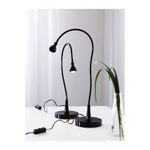 Ikea Black Jansjo Desk Work Led Lamp Light (2 Pack) - $42.98