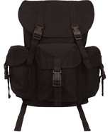 Black Canvas Outfitter Military Rucksack Backpack - $26.99