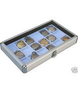 2 Pocket 18 Watch Show Case Display Antique Jewelry Supply box  pocket w... - $79.95