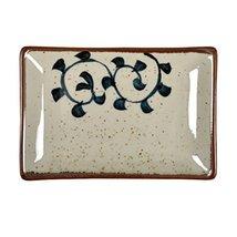 Kylin Express Rectangle Ceramic Dinner Plate Creative Japanese Sushi Plate, C - $23.29