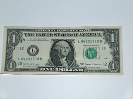 2017 $1 Bill US Note 18th History Date Year April 23 1718 0423 1718 Fanc... - $14.83
