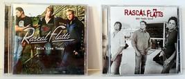 "Lot of 2 Rascal Flatts CD's - ""Feels Like Today"" and ""Still Feels Good"" - $6.42"