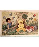 Fritz Baumgarten Signed Fantasy Postcard, Teddy Bear, Fairy, Beatle, &  ... - $15.00