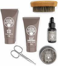 Beard Care Kit for Men Gift - Beard Grooming Kit Contains Travel Size Beard Oil, image 2