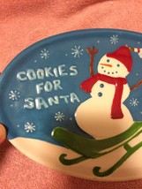 STARBUCKS PLATE--COOKIES FOR SANTA--CHRISTMAS--2006--CUP INDENT---FREE S... - $13.64