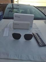 Mykita + Maison Margiela sunglasses white frame grey lenses - $334.63