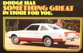 1978 Dodge Brochure, Charger Challenger Magnum Monaco - $8.54