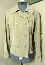 ST. JOHN'S BAY Corduroy Blazer Jacket M Tan Beige Sport coat Career wear... - €17,84 EUR