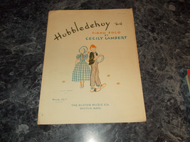 Hobbledehoy piano Solo by Cecily Lambert sheet music - $3.99