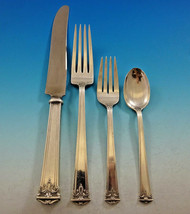 Trianon by International Sterling Silver Flatware Set 12 Service 51 Pcs ... - $3,650.00