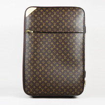 "Louis Vuitton Monogram Coated Canvas ""Pegase 70"" Suitcase - $2,705.00"