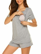 Ekouaer Pregnancy Nursing Shirts Maternity Sleepwear - $30.71