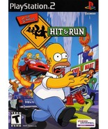 Simpsons Hit & Run PS2 Great Condition Complete Fast Shipping - $59.93