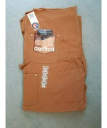 Carhartt Traditional Duck 6FB Bib Overall Unlined 46x32 - Made in the USA - $61.33