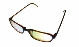 Guess Ophthalmic Mens Eyeglass Plastic Rectangle 1331 Demi Amber - $35.99