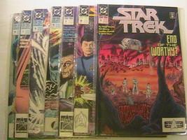 Lot of 8 STAR TREK DC Comics 1991 #15-18 & THE NEXT GENERATION #15-18 [c1] - $27.07