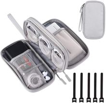 DDgro Electronics Travel Organizer, Waterproof Tech Accessories Pouch Ba... - $30.51