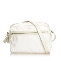 Pre-Loved Gucci White PVC Plastic Guccissima Crossbody Bag Italy - $368.39