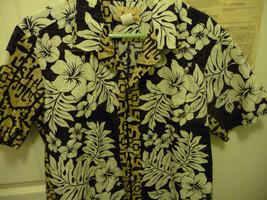 Tommy Fashion Hawaii Aloha Hawaiian Shirt made in Hawaii mens L Dad Wear... - $30.00