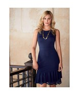 Avon Ponte Peekaboo Lace-Hem Dress. Size S (6-8) New in Package - $21.78