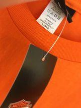Harley-Davidson HD Men's Size L Orange T Shirt NEW NWT Phoenix Az Buddy Stubbs image 5