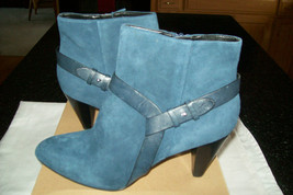 """NIB Cole Haan """"Calico"""" Ankle Boot Bootie in Blazer Blue Suede Leather  U... - $99.00"""