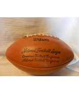 Green Bay Packers Printed Team Signatures Wilson Football From 1970s Sta... - $594.00