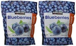 Kirkland Signature Whole Dried Blueberries: 2 Bags of 20 Oz (1 Bag is 1LB 4 OZ w - $38.34