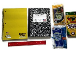 Back to School Supply Bundle for Elementary Through College - Spiral Not... - $13.91